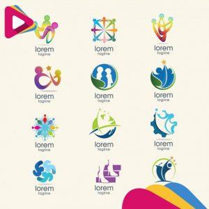 abstract logo templates collection 1346 23 1