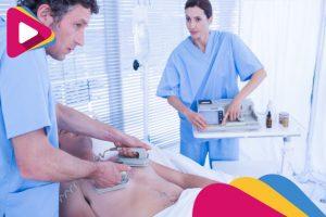 medical team resuscitating a man with a defibrillator 13339 138785